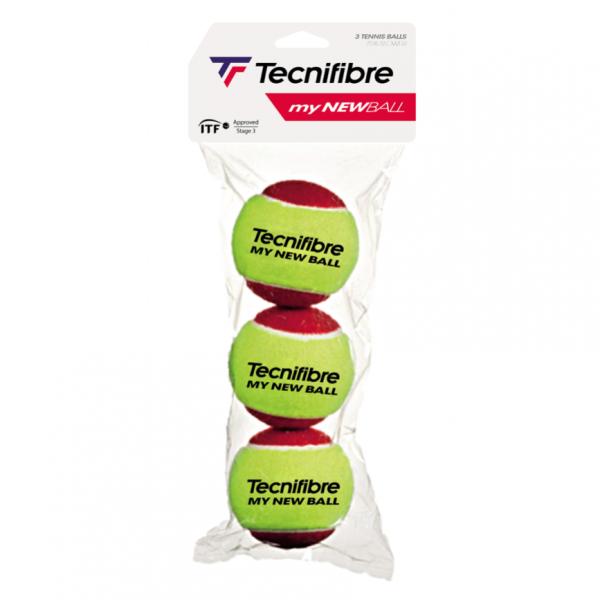 Technifibre My New Ball 3 Pack Tennis Balls
